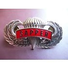 Airborne Sapper Tab Jump Wing Badge