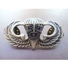 Special Forces Airborne Jump Wing Badge Insignia US Army SFG