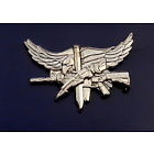 SWAT Operator Insignia with Eagle Center Mass POLISHED